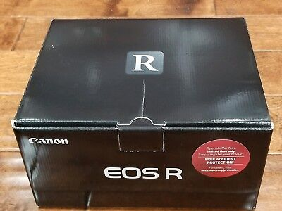 Label NEW Canon EOS R 30.3MP Mirrorless Digital Camera (Society Only) #3075C002