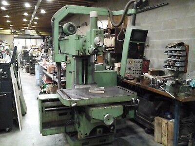 Maho 800p Milling Machine W 4th Axis Rotary Table