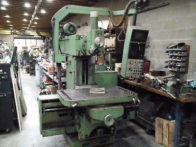 Maho 800p Milling Machine W 4th Axis Rotary Table