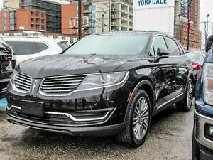 2017 Lincoln MKX Reserve Leather, Sunroof, Navigation, AWD