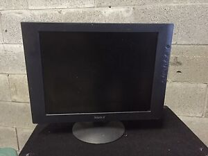 """14"""" Sony flat screen monitor for computer"""