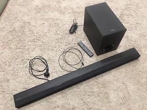 Sony SA- CT80 2.1 Soundbar and Subwoofer