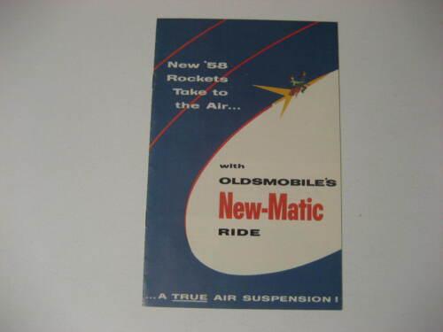 1958 Oldsmobile New-Matic Brochure
