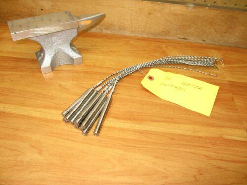 """Watlow Firerod 1950 (LOT OF 10) 2098-3221 Die Cartridge Heater 3/8""""x3"""" 220V 80W"""
