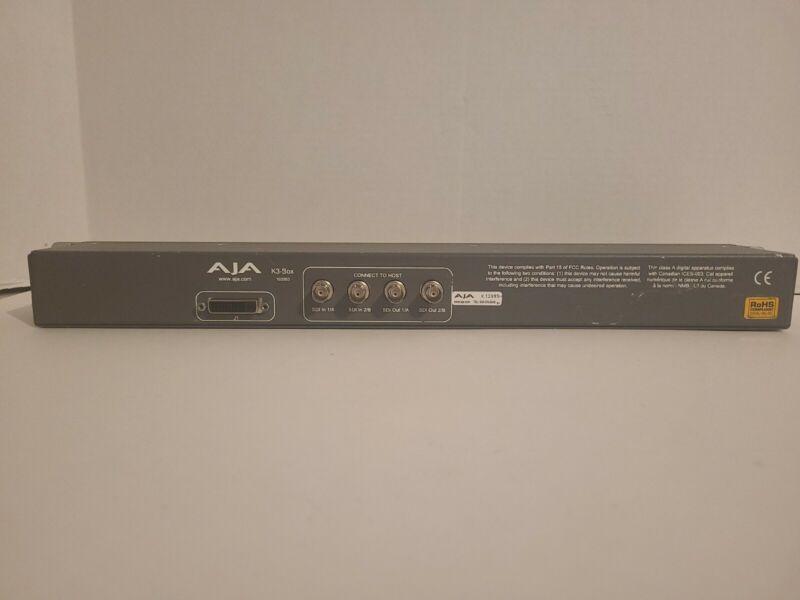 AJA K3-Box Breakout Box 102053 KONA 2 Rackmount Fast Shipping