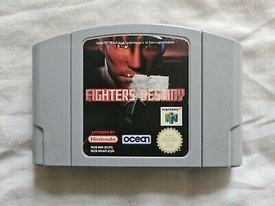 FIGHTERS DESTINY Nintendo 64 N64 Game PAL VERSION
