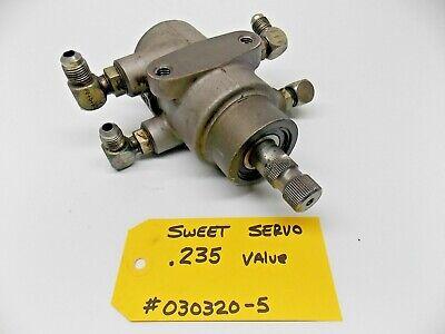 .235 Sweet Mfg Power Steering Servo RACE ASPHALT WOO DIRT BOG 030320-5