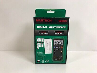Mastech Ms8239c Digital Auto Range Multimeter Ac Dc Voltage Current Tester