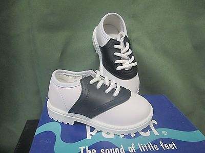Boys Saddle Shoes (NIB SADDLE SHOES Boys or Girls Infant/Toddler WHITE/BLACK Size)