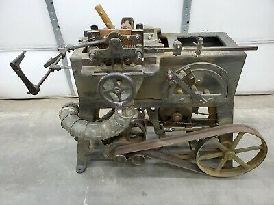 Millbury Machine Co. Pulley Mortiser Heavy Model Bt 503