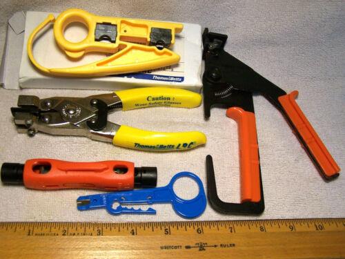 Professional Compression Tool RG6 RG59 Connector Cable Coax Stripper Crimper Set