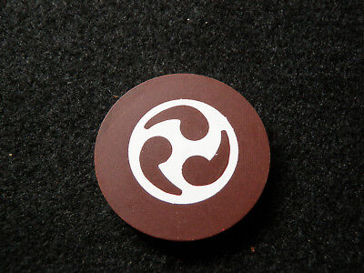 Chocolate Poker Chips (Chocolate Brown Illegal Casino Antique Roulette Poker Chip Gambling)