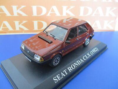 Die cast 1/43 Modellino Auto Seat Ronda CLX 1982