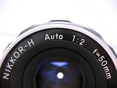Nikon Nikkor-H 2/50mm Lens (Non AI)