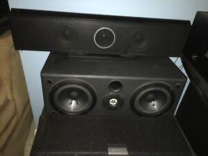 Speaker sony et samsung
