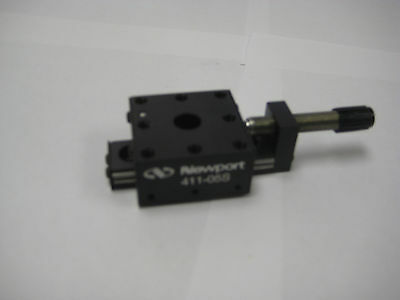Newport 411-05s Miniature Ball Bearing Linear Stage 0.5 Inch Travel