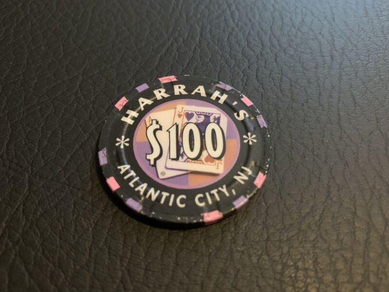 Harrah's Atlantic City Table Games Chip