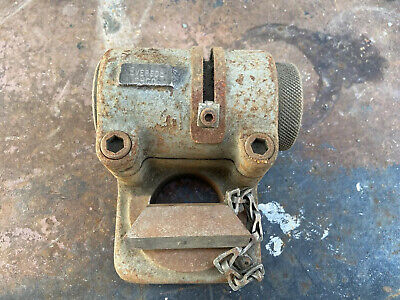Older Everede Eccentric Boring Bar Tool Holder For Metal Lathe With Wedge