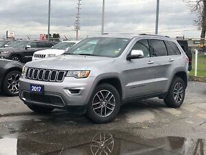 2017 Jeep Grand Cherokee LIMITED**LEATHER**SUNROOF**BACK UP CAM*
