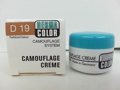 Kryolan Dermacolor Camouflage Cream Cover Tattoos Birthmark Pigment - Camouflage Tattoos