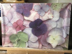 Ikea flower wall canvas art