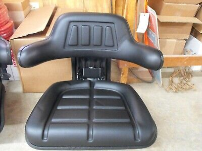 Universal Suspension Tractor Seat Black New