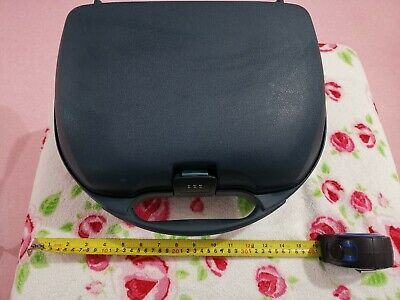 Genuine Samsonite Vanity Case travel makeup Hard shell Plastic Rigid Body