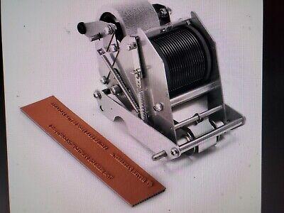 New Better Pack Gummed Tape Dispenser 333 Plus External Coder Ink Font Kit