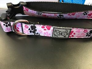 Brand new pink dog collar