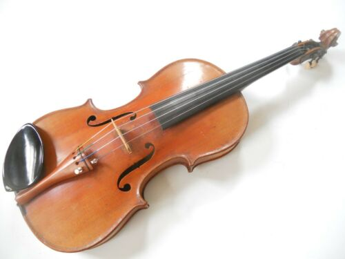 Vintage Antique Violin With Metal Tuning Pegs #072520T