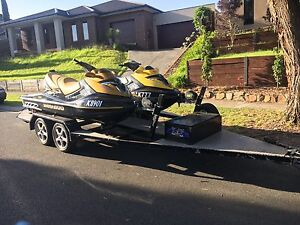 2 x SEADOO RXT 215 JET SKIS 3 seaters Beaconsfield Cardinia Area Preview