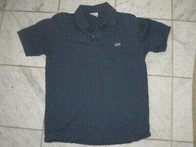 LACOSTE POLO DARK BLUE SIZE 7 MEN'S CASUAL SHIRT T-SHIRT XL X-LARGE