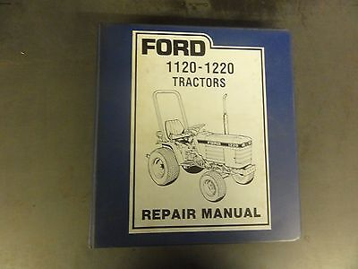 Ford 1120-1220 Tractors Repair Manual
