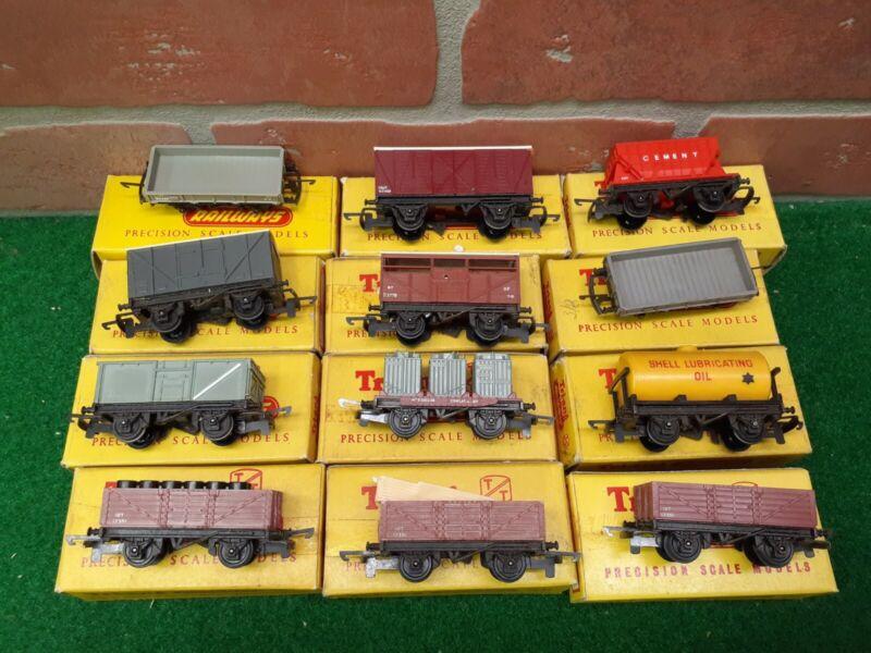 Triang Railways TT Gauge Freight Wagon Lot Boxed