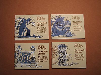 Great Britain Stamp Scott# 247  4 Different Covers  Booklet MNH C50