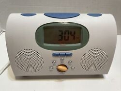 Philips MG-C205/17 Alarm Clock AM/FM Radio White by Michael Graves For Target