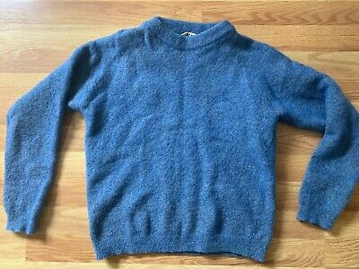 Blue Acne Studio Sweater Size Fits Small 100% Authoriztic