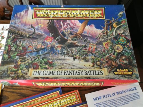 The Game of Fantasy Battles 4th Edition, Warhammer Incomplete,1992