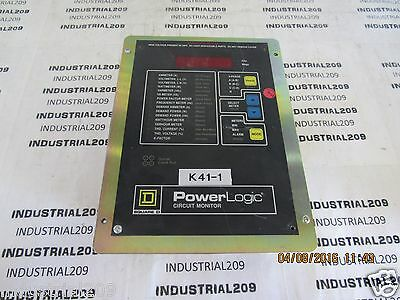 Square D Power Logic Circuit Monitor 3020cm-2350 Used