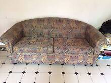 Fabric upholstered Sofa Bed Croydon Burwood Area Preview