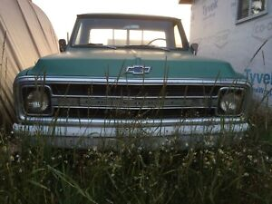 1970 Chevy short box project.