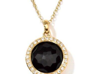 Ippolita 18k Onyx Diamond Pendant