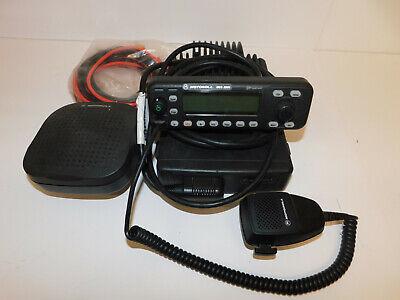 Motorola Mcs2000 Vhf 110w Remote Mount Model 2 Mobile Radio Analog Widenarrow