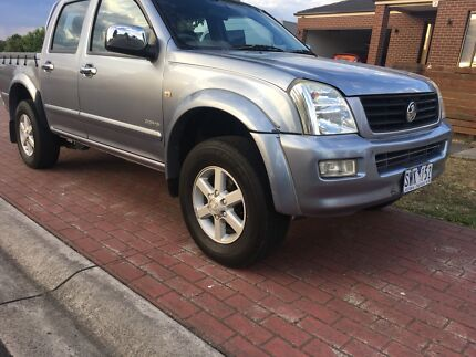 Holden rodeo RA LT 2004 with rego and RWC certificate