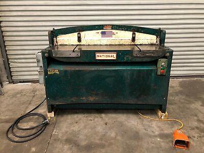 National Nh5212 52 X 12 Gauge Hydraulic Metal Shear Gmt-2189