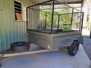 Cage Trailer for hire - $50 24 hours -North Brisbane Burpengary Caboolture Area Preview