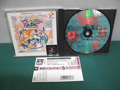 Playstation    Detana Twinbee Yahoo Deluxe Pack Best    Japan  Spine Card  15414