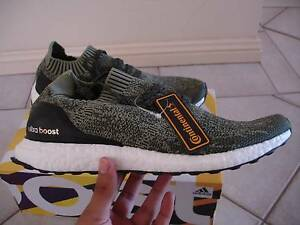 ADIDAS ULTRA BOOST UNCAGED (OLIVE TECH) US 10 - BRAND NEW Sydney City Inner Sydney Preview