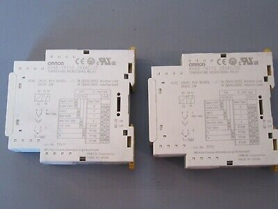 Omron K8AB-TH11S TEMPERATURE MONITORING RELAY QTY 2 Pair of K8ABTH11S 24VAC/DC for sale  Oceanside