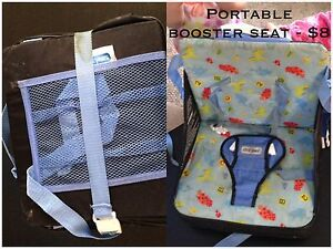Portable booster seat